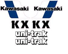 1983 KAWASAKI KX 60 GAS TANK, SWINGARM & SIDE PANEL DECAL KIT VINTAGE MOTOCROSS