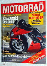 MOTORRAD 1-84+KAWASAKI GP Z 900 R+MAGNI-BMW MB 2+SUZUKI GSX 1100 EF+CAGIVA