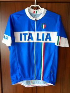 Saby Italy National Team Cycling Shirt Jersey Full zip size XL-2XL