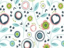 Poplin Floral Quilting Fabric Fat Quarter