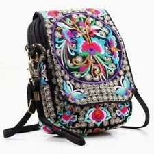 Handmade Women Mini Crossbody Bag Cellphone Pouch Small Handbag Coin Purse