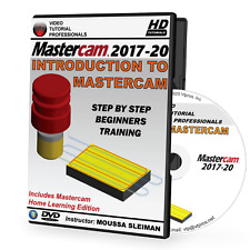 MASTERCAM 2017-2020 - Intro To Mastercam Video Tutorial Training (2018, 2019)