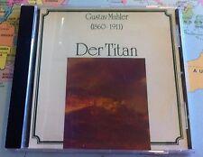 Gustav Mahler CD 1860-1911 Titan Symphony No 1 D Major Georg Sioti Funeral March