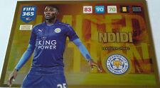 PANINI ADRENALYN XL FIFA 365 2017 UPDATE EDITION LIMITED EDITION NDIDI