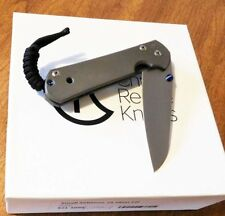 CHRIS REEVE New Small Sebenza 21 Left Hand Plain S35VN Insingo Bld Knife/Knives