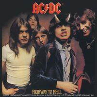 AC/DC Highway To Hell LP Cover vinyl sticker 100mm x 10mm (cv)