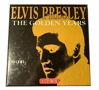 Very Rare 6-CD Box Set ELVIS PRESLEY *THE GOLDEN YEARS* EPC 1306 HITS 1954-1959