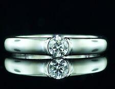 "Certified Tiffany & Co. ""Etoile"" Ideal Diamond Platinum ring"