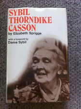 SYBIL THORNDIKE CASSON BY ELIZABETH SPRIGGE, SIGNED, SCARCE, HIGHLY COLLECTABLE.