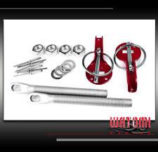 RACKING HOOD PIN LOCK KIT JDM RED CSX EL MDX RDX RL A3 A5 S5 S6 Z3 Z4 DTS ION SX