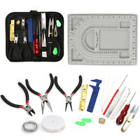 23Pcs/Set Jewelry Making Starter Kit Beading Wires Pliers Repair Tools Supplies