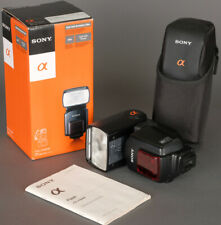 Sony HVL-F58AM TTL Bounce Swivel Zoom Head  Powerful Flash Mint Boxed!
