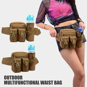 Outdoor Military Tactical Waist Bag Camping Shoulder Chest Bag Fanny Pack Bag