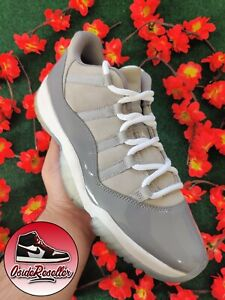 🔥Nike Air Jordan Retro 11 Low XI Cool Grey Size 12 528895-003 🔥