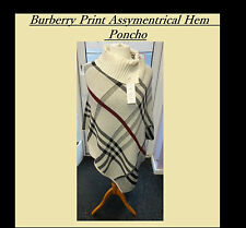 NEW Burb Chequered Print Knit Poncho Cover Up Plus Size 16 18 20 22 24 BE Curve