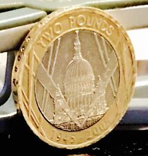 2005 £2 COIN 60TH ANNIVERSARY WWII RARE TWO POUNDS
