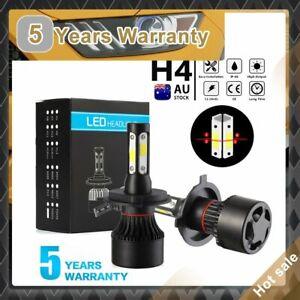 4-Sides H4 LED Car High Low Beam Headlight Globes Conversion Lamp Bulbs 6000K AU