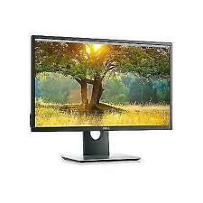 Dell P2417H 23.8 Inch Full HD LED Monitor - Black
