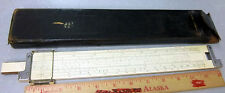 Keuffel & Esser 4080-3 slide Rule, with leather carrying case, good condition