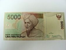 INDONESIA 5000 Rupiah Banknote World Paper Money