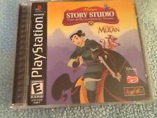 Disney's Story Studio: Mulan (Sony PlayStation 1, 1999)