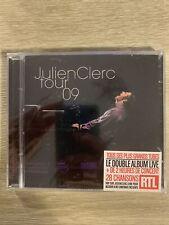 Julien Clerc   Tour 09   2 Cd   Neuf Sous Blister
