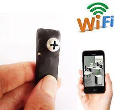 spy Wireless IP WIFI Pinhole Nanny screw Camera DVR Immediate watch on Phone
