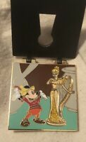 Disney -  Keyhole Characters - Mickey and the BeanstalkWith Harp Pin - LE 1000