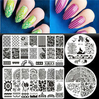4pcs Born Pretty Lace Arabesque Nail Art Stamping Template Plates  DIY