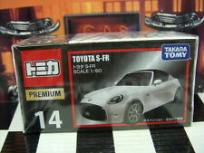 Tomica Premium #14 Toyota S-Fr 1/60 Scale New In Box