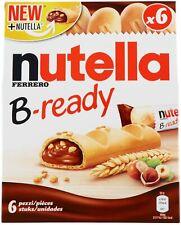 Nutella B-ready T6 - 4 confezioni da 6 - Snack Gustosi con Cioccolato e Nocciole
