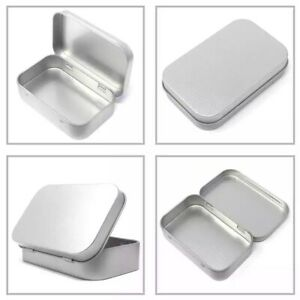 DINTED Hinged Altoids Mints Sized Metal Tin EDC Survival Emergency First Aid Kit