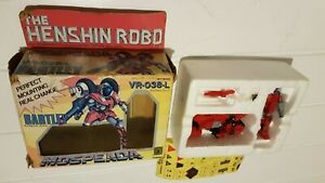 Retro Anime Henshin Robo Mospeada Vr-038-l Bartley Armor Bike + Figure in Box