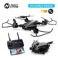 Holy Stone YC-006 Mini Drone 720PHD Wifi FPV Camera Foldable RC Quadcopter Black