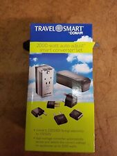 New franzus travel smart 2000 Watt auto adjust converter #PS200E NIB NOS