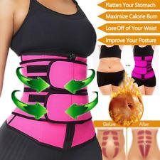 Women Waist Trainer Neoprene Belt Sauna Sweat Body Shaper Slimming Tummy Control
