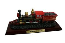 "Great American Trains American 6"" 4-4-0 with Base - Display F592 - C.O.A - New"