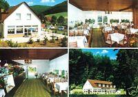 """AK, Bad Pyrmont - Löwensen, Café - Restaurant """"Friedensthal"""", vier Abb., 1976"""