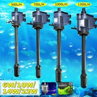 3 in 1 Aquarium Filter Oxygen Circulating Water Pump Fish Tank Powerhead W/