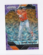 2017 Panini Prizm Purple Scope #30 Manny Machado /99 Orioles Dodgers Parallel