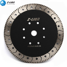 9'' Diamond Turbo Saw Blade 230mm Cutting Disc Double Side Grinding Wheel Stone