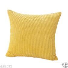 Square Corduroy Throw Pillow Case Cushion Cover Waist Office Home Sofa Decor