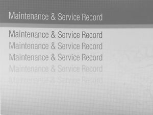 Suitable For Nissan Generic Replacement Car Service History Book Handbook Grey
