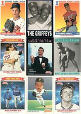 1991 Score Complete Set, Chipper Jones & Mike Mussina Rookies, 893 Cards