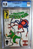 Amazing Spider-Man #296 Doc Oc Marvel 1988 CGC 9.8 NM/MT White Pages Comic P0141