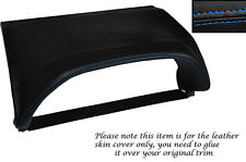 BLUE STITCHING SPEEDO HOOD SKIN COVER FITS NISSAN X-TRAIL 01-04 PRE FACELIFT