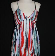 🌹NWT W118 BY WALTER BAKER Women's 'Warrior Stripe' Spag Strap Dress S $158 Bx15