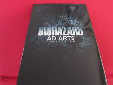 RESIDENT EVIL Biohazard Ad Arts Collection Book
