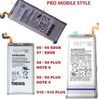 BATTERIE ORIGINALE INTERNE NEUVE SAMSUNG S6 S7 EDGE S8 S9 S10 PLUS NOTE 8 NOTE 9
