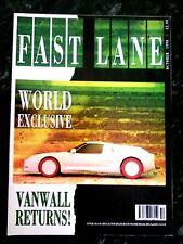 FAST LANE MAGAZINE OCT-1990 - Mercedes 300SL-24 R129, Alfa 33, Alpina B10 E34